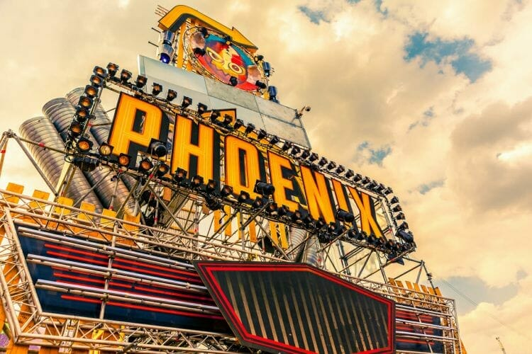 tent Phoenix op festival Paaspop gemaakt door De Festivalfotograaf uit Den Bosch ('s-Hertogenbosch) en omgeving.