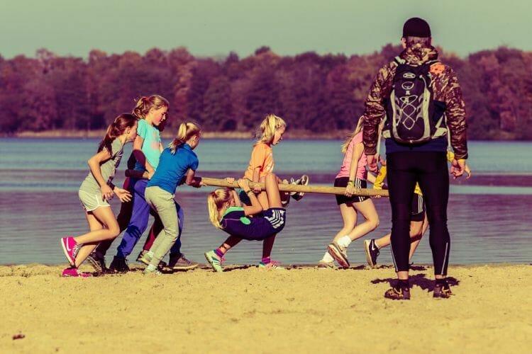 Oosterplas teambuilding oefening gemaakt door FotoDennis.com