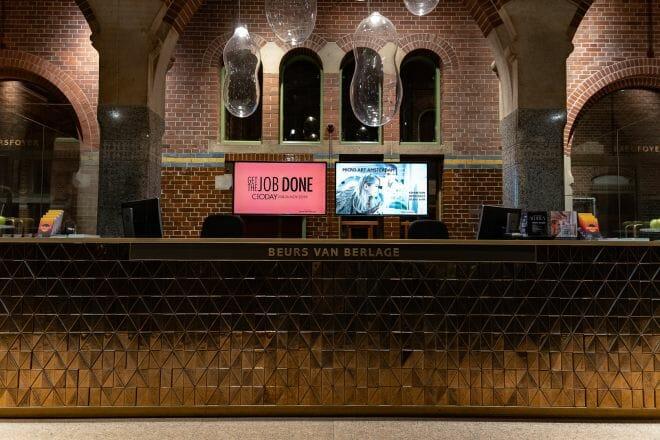 Beurs van Berlage tijdens CIODAY 2019, van Dennis Khalil professioneel fotograaf uit Den Bosch ('s-Hertogenbosch) en omgeving